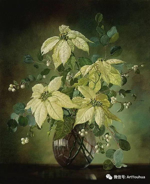 花卉油画 英国画家Cecil Kennedy插图31