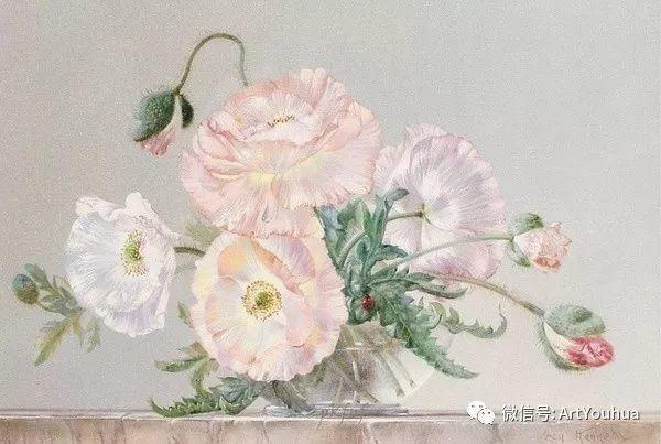 花卉油画 英国画家Cecil Kennedy插图43