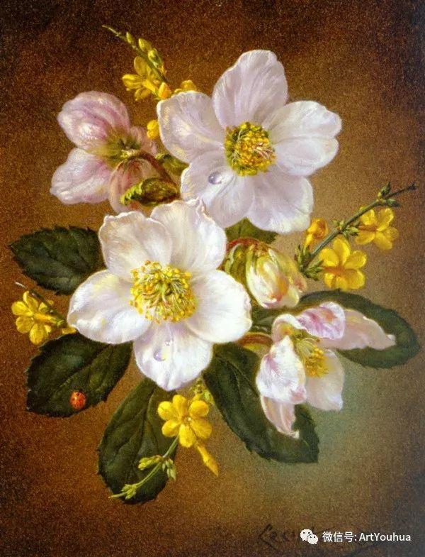 花卉油画 英国画家Cecil Kennedy插图49