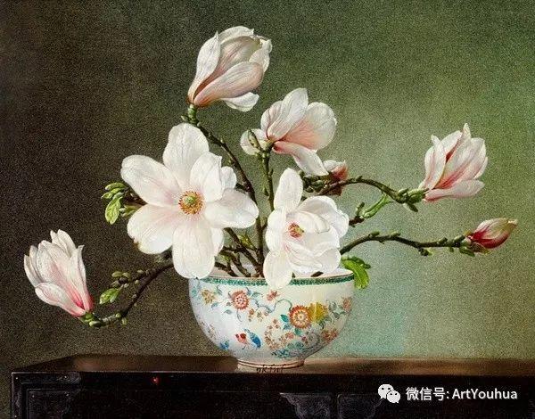 花卉油画 英国画家Cecil Kennedy插图51