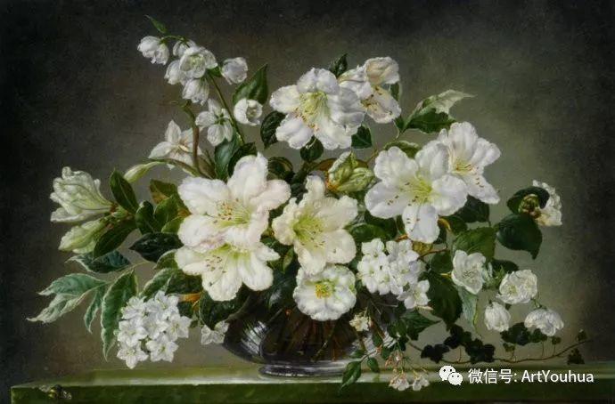 花卉油画 英国画家Cecil Kennedy插图57
