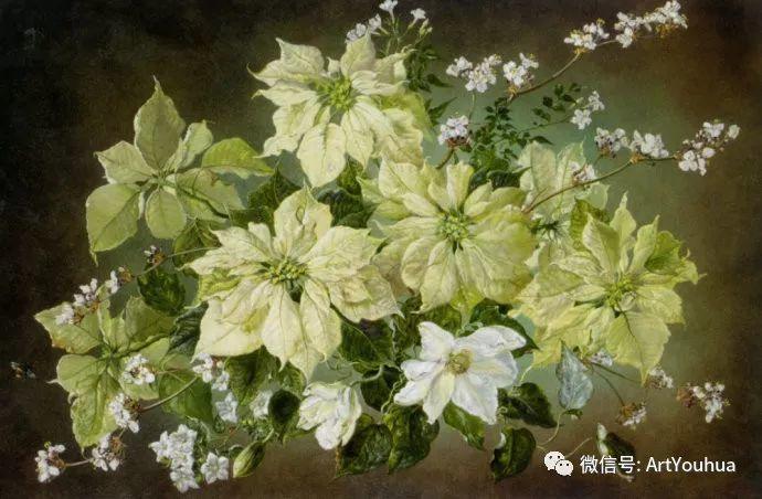 花卉油画 英国画家Cecil Kennedy插图59