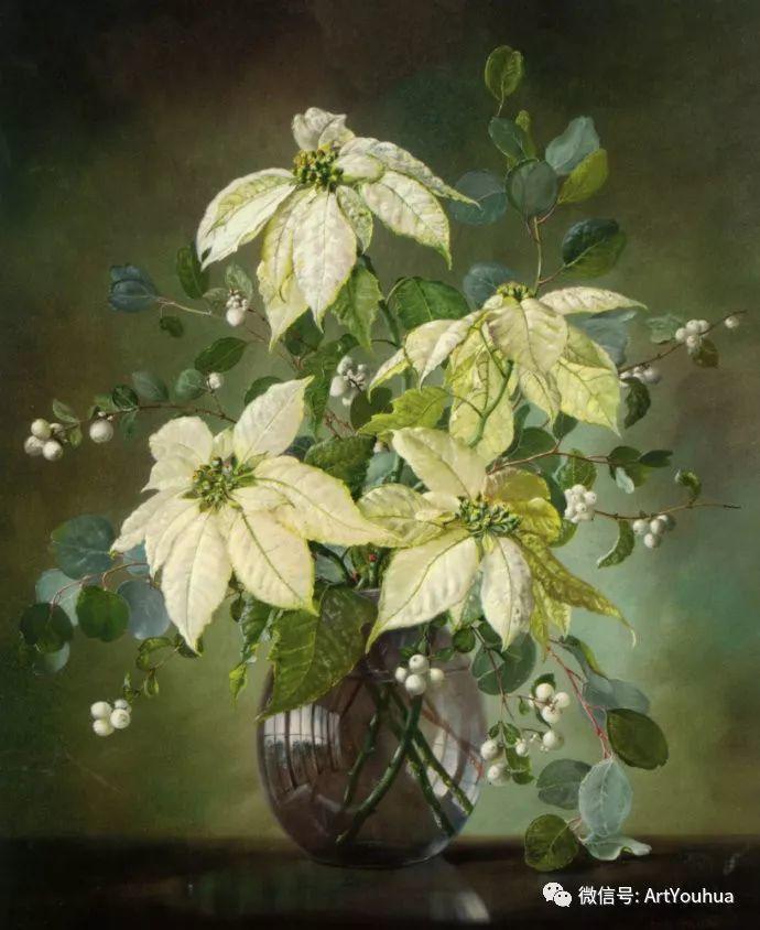 花卉油画 英国画家Cecil Kennedy插图61