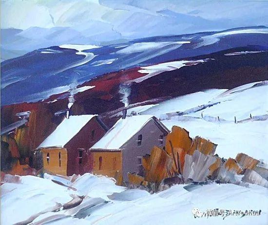 加拿大风景画家Christian Bergeron插图7
