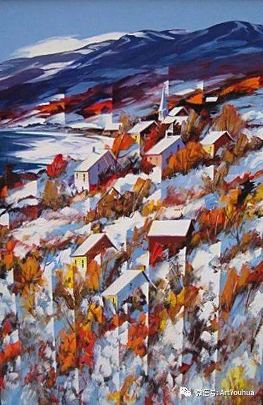加拿大风景画家Christian Bergeron插图12