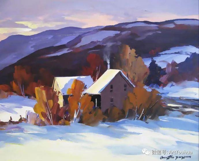 加拿大风景画家Christian Bergeron插图25