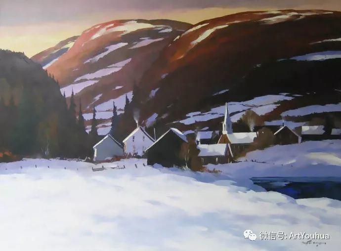 加拿大风景画家Christian Bergeron插图30