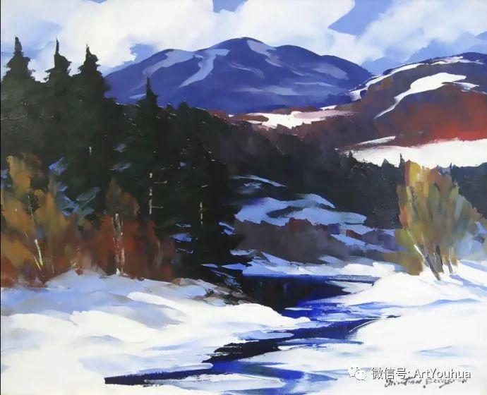 加拿大风景画家Christian Bergeron插图35