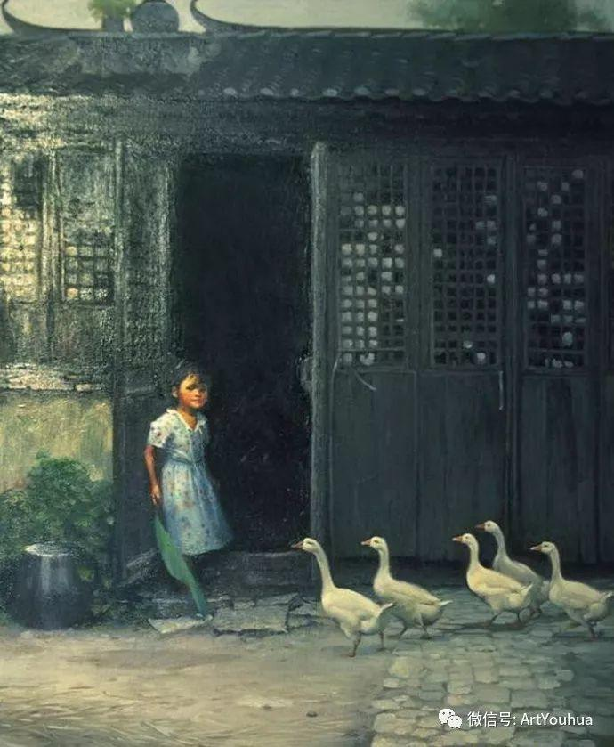 周瑞文风景油画作品欣赏插图21