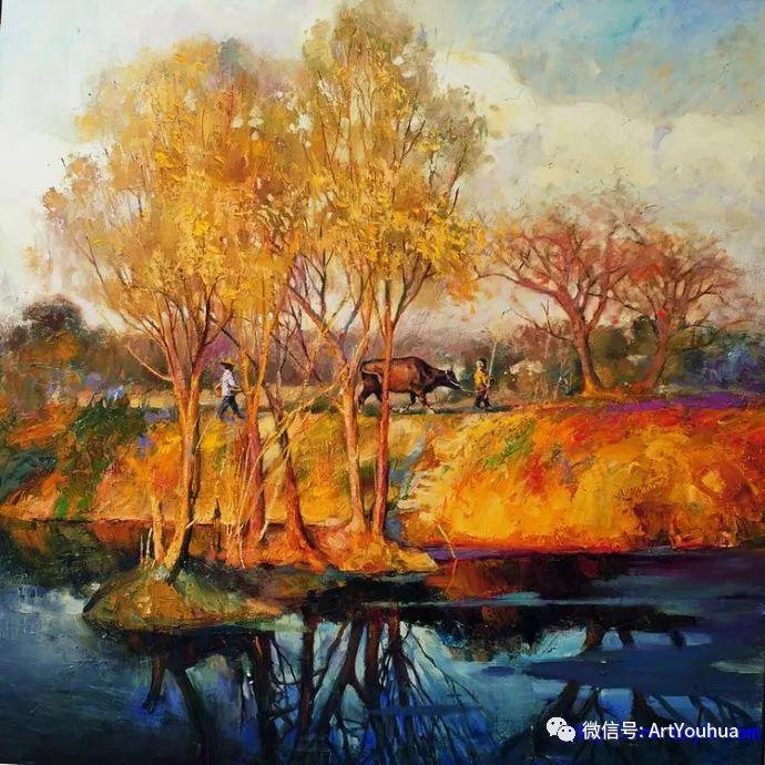 周瑞文风景油画作品欣赏插图31