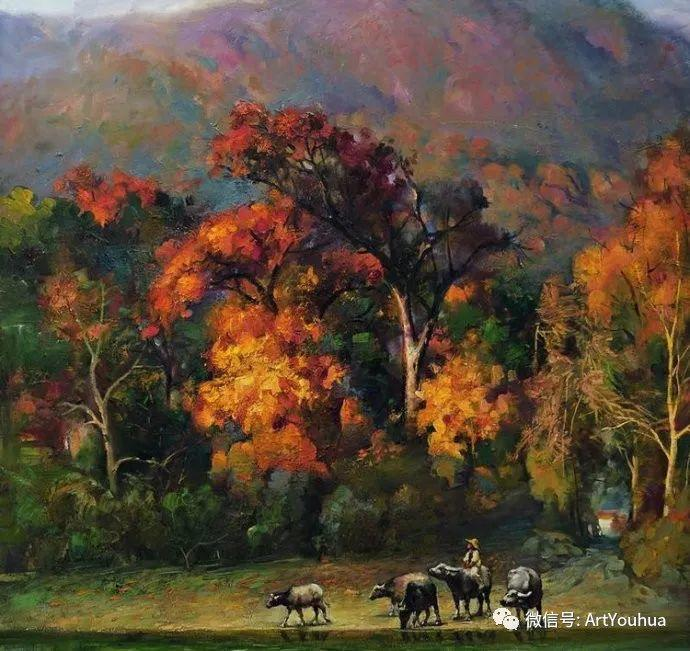 周瑞文风景油画作品欣赏插图33