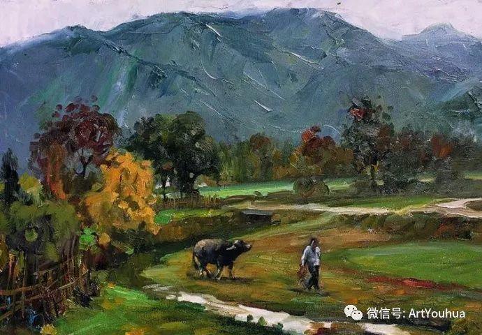周瑞文风景油画作品欣赏插图37