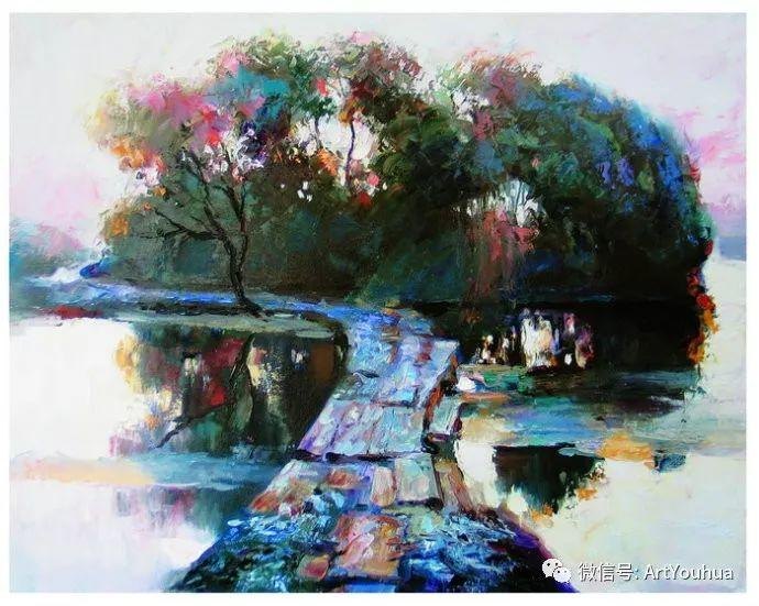 周瑞文风景油画作品欣赏插图47