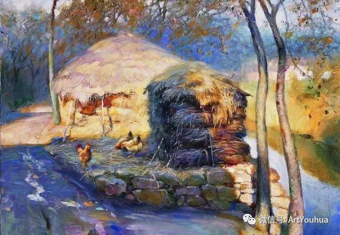 周瑞文风景油画作品欣赏插图49
