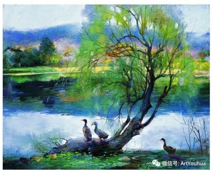 周瑞文风景油画作品欣赏插图53