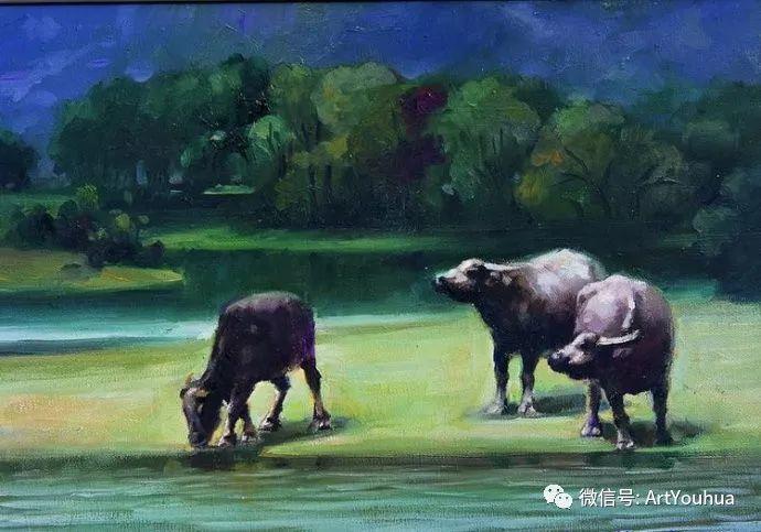 周瑞文风景油画作品欣赏插图69