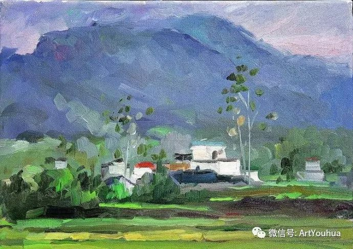 周瑞文风景油画作品欣赏插图77