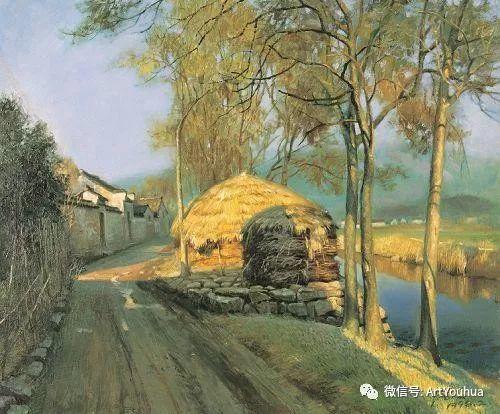 周瑞文风景油画作品欣赏插图79