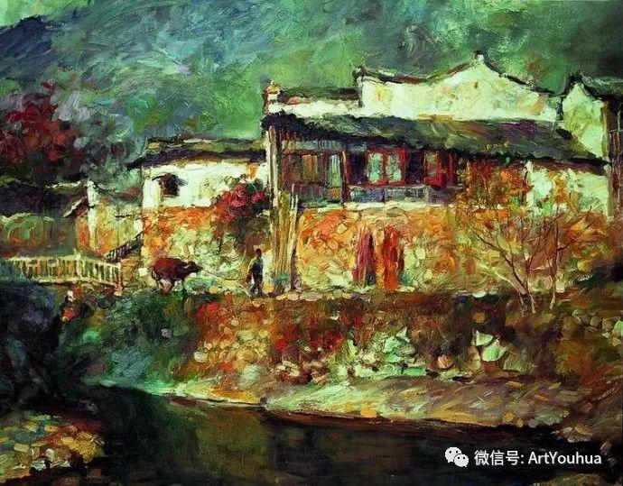 周瑞文风景油画作品欣赏插图87