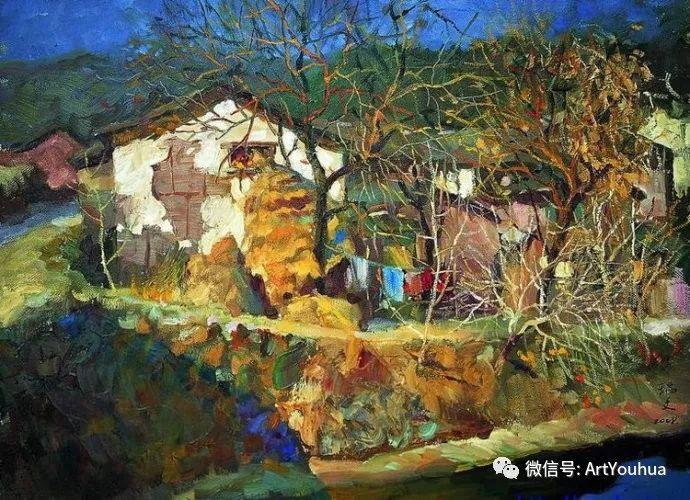 周瑞文风景油画作品欣赏插图89