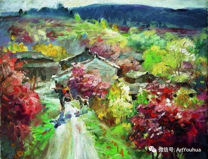 周瑞文风景油画作品欣赏插图93