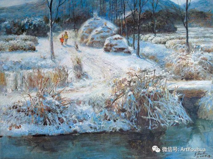 周瑞文风景油画作品欣赏插图109