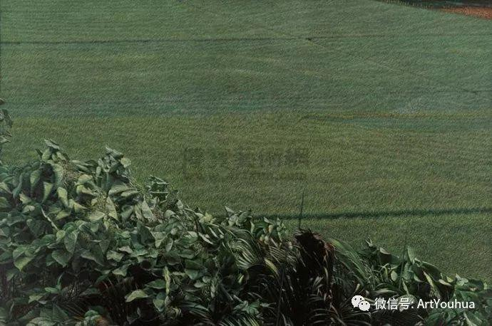 田园山村风景油画欣赏 台湾画家黄铭昌插图15