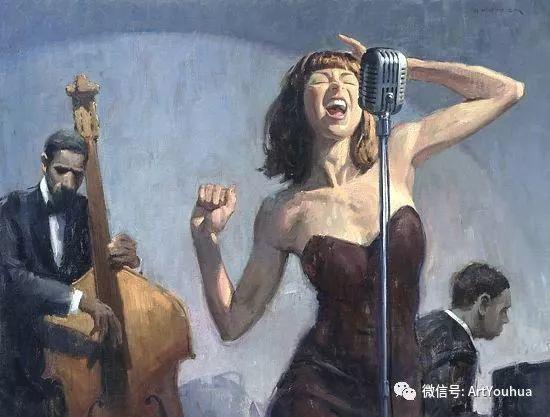 人物油画作品欣赏 美国eric bowman插图6
