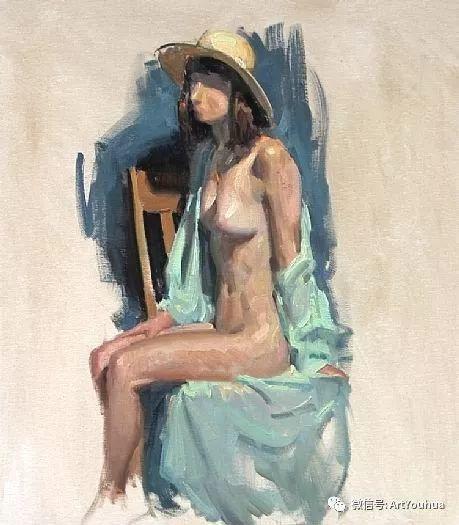 人物油画作品欣赏 美国eric bowman插图32