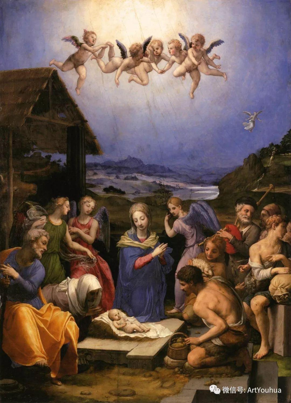样式主义 意大利画家Agnolo Bronzino插图33