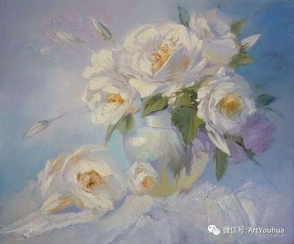 花卉油画作品 俄罗斯艺术家Anton Gortsevich插图5