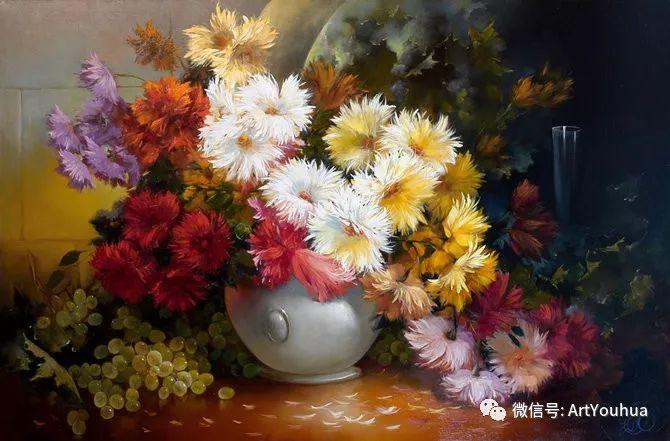 花卉油画作品 俄罗斯艺术家Anton Gortsevich插图9