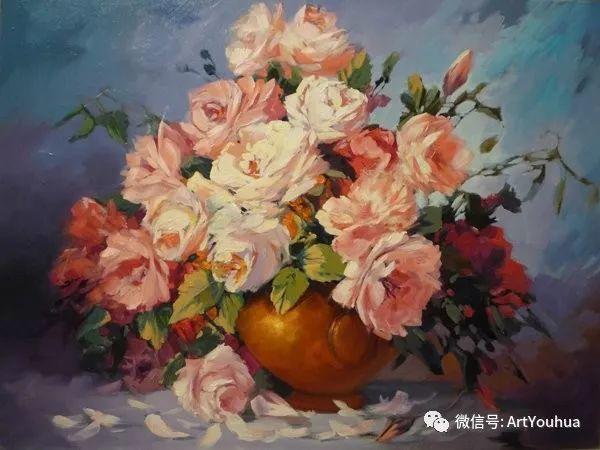 花卉油画作品 俄罗斯艺术家Anton Gortsevich插图13
