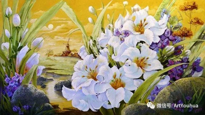 花卉油画作品 俄罗斯艺术家Anton Gortsevich插图23
