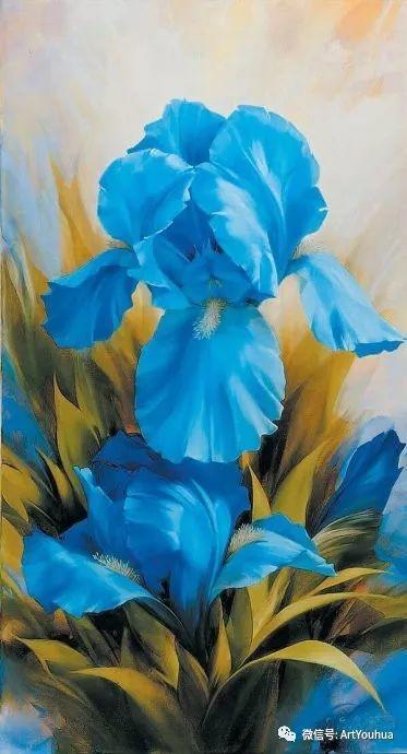 花卉作品欣赏  俄罗斯画家Igor Levashov插图1