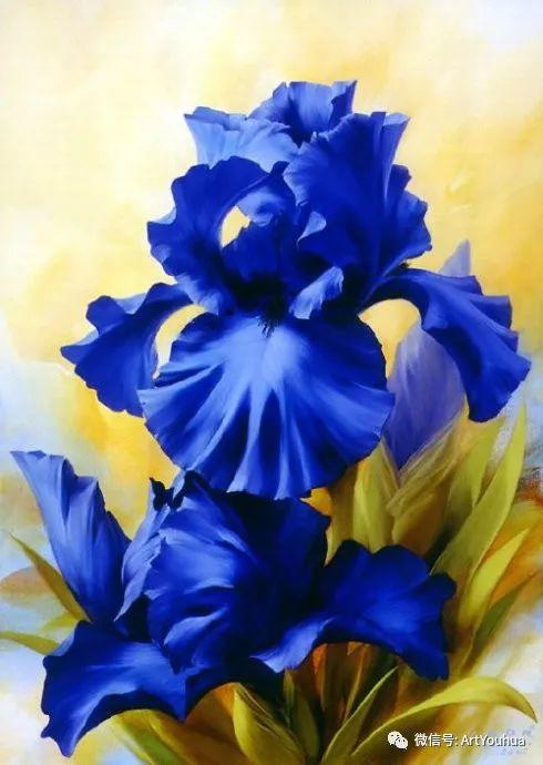 花卉作品欣赏  俄罗斯画家Igor Levashov插图3