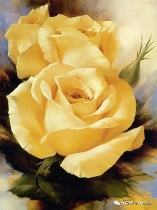 花卉作品欣赏  俄罗斯画家Igor Levashov插图5