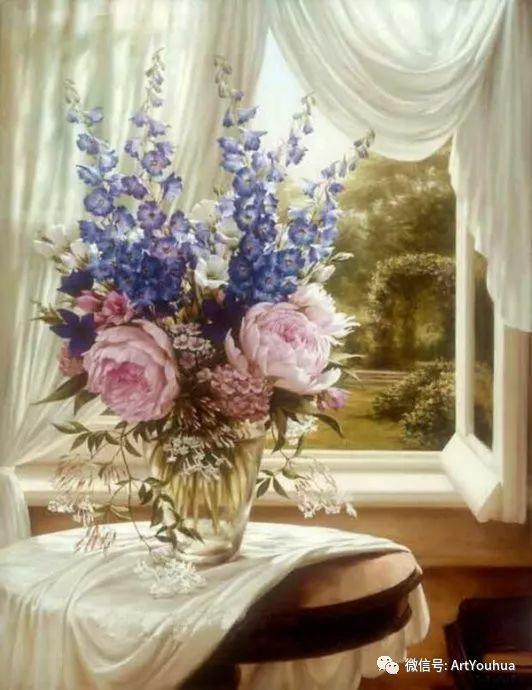 花卉作品欣赏  俄罗斯画家Igor Levashov插图13