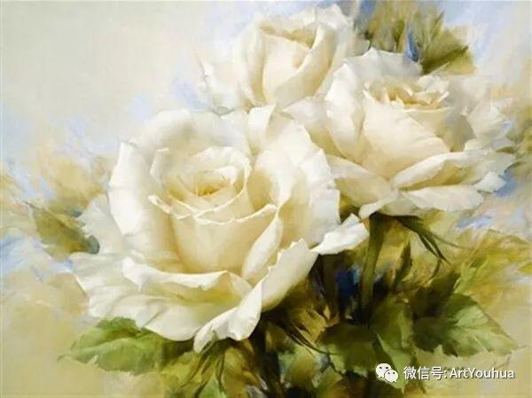花卉作品欣赏  俄罗斯画家Igor Levashov插图17