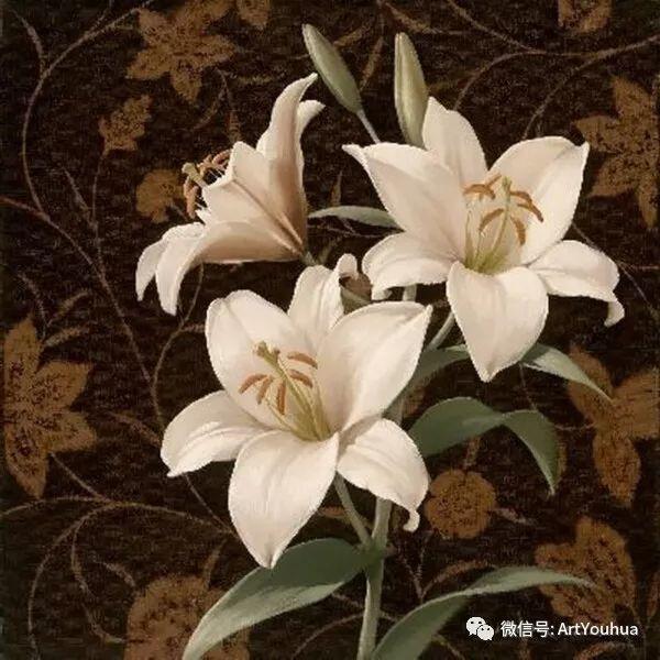 花卉作品欣赏  俄罗斯画家Igor Levashov插图19