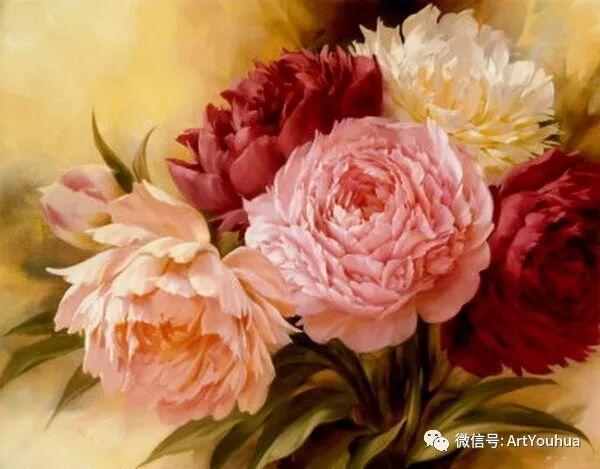 花卉作品欣赏  俄罗斯画家Igor Levashov插图21