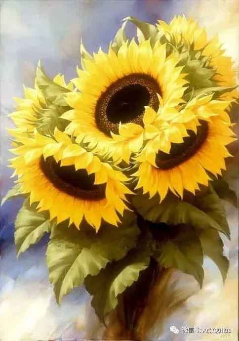 花卉作品欣赏  俄罗斯画家Igor Levashov插图33