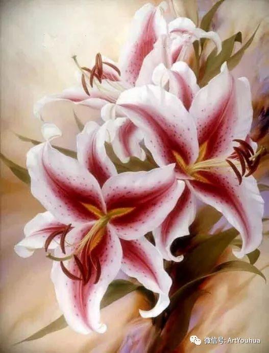 花卉作品欣赏  俄罗斯画家Igor Levashov插图37