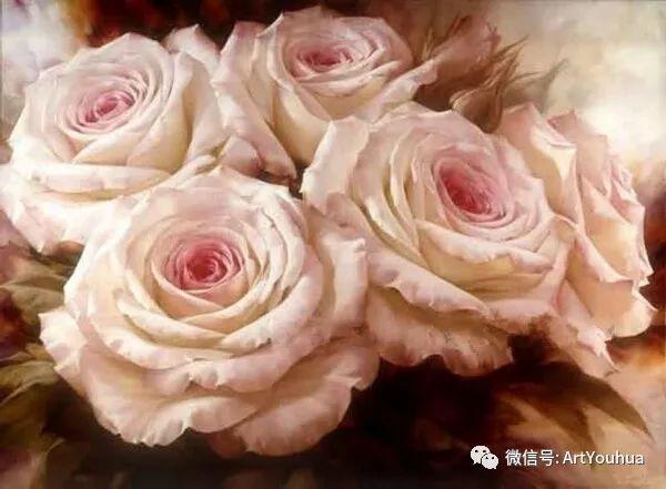 花卉作品欣赏  俄罗斯画家Igor Levashov插图41