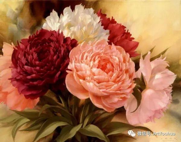 花卉作品欣赏  俄罗斯画家Igor Levashov插图43