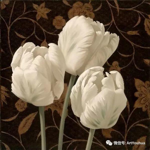 花卉作品欣赏  俄罗斯画家Igor Levashov插图47