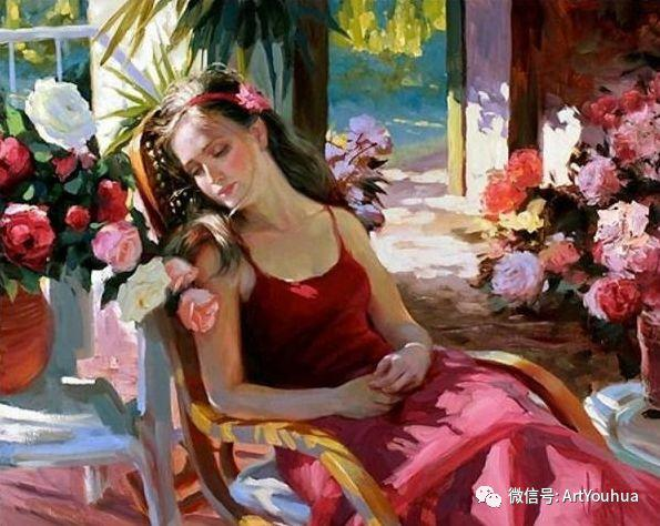 人物油画欣赏  俄罗斯画家Vladimir Volegov插图