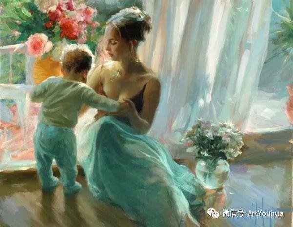 人物油画欣赏  俄罗斯画家Vladimir Volegov插图2
