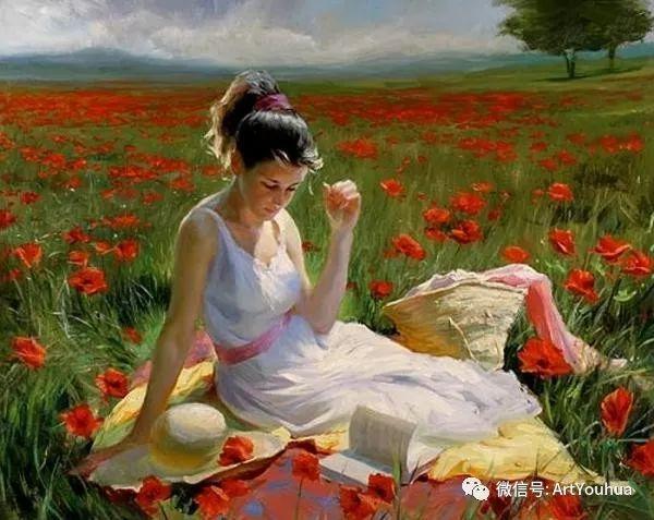 人物油画欣赏  俄罗斯画家Vladimir Volegov插图3