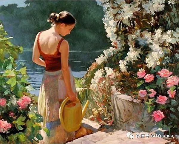 人物油画欣赏  俄罗斯画家Vladimir Volegov插图4